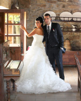 Boda de Aitor y Vanessa en Campaña banquete en Casa Rosita de Cambados